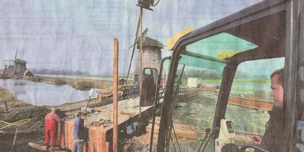 Molensloot Rustenburg stroomt weer