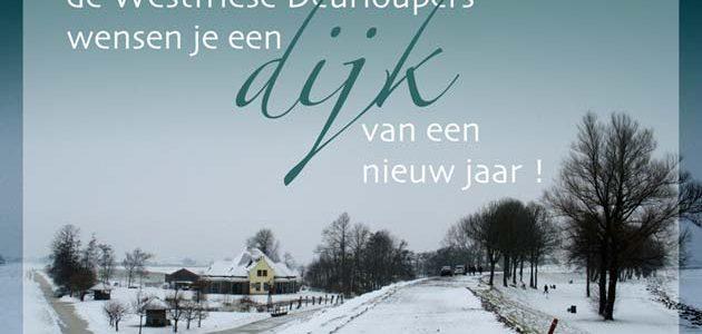 """Westfries: """" Een zâlig kerst en een gelukkig nuuwjaar"""""""