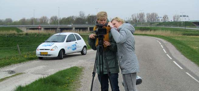 Noord-Hollands Koningslied. Making of the clip.